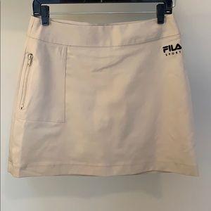 FILA light brown golf skirt